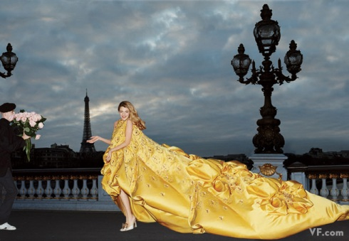 Gossip Girl and fashion muse Blake Lively. Photograph by Michael Roberts; styled by Jessica Diehl.