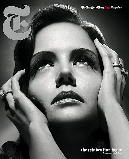 Katie Holmes in T Magazine Photographer by Solve Sundsbo