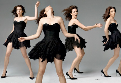 Tina Fey in Vanity Fair Photographed by Annie Leibovitz; styled by Michael Roberts