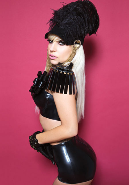 Lady Gaga in Fabulous Mag