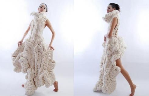 Dress by: Johan Ku