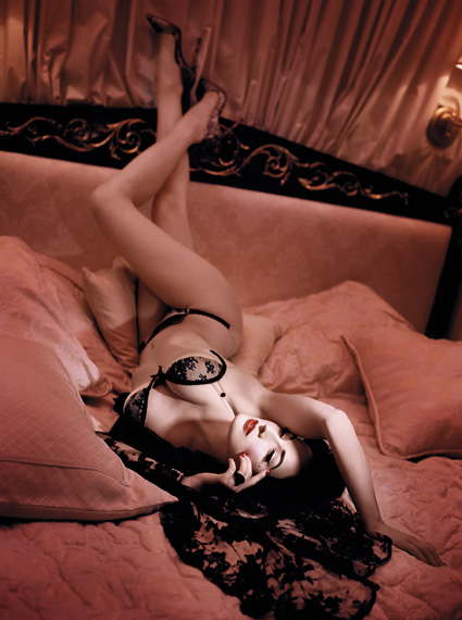 Dita Von Teese for Wonderbra 2009