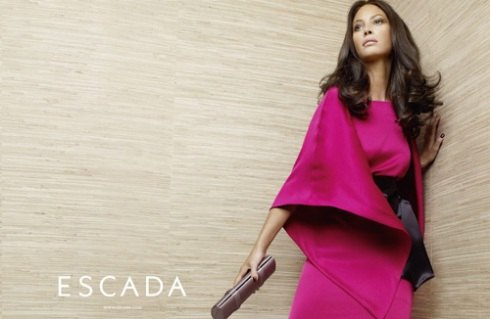 christie turlington escada