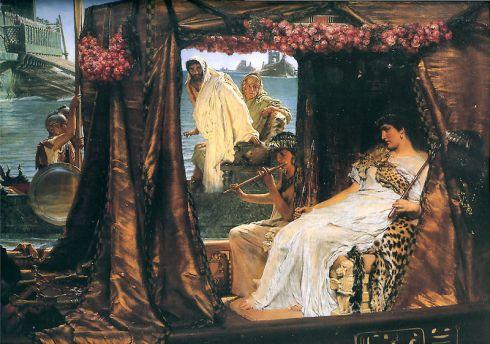 Lawrence Alma-Tadema: Antony and Cleopatra