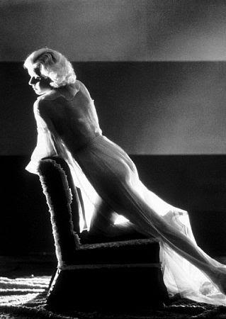Jean Harlow on Chair