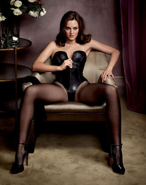 Leighton Meester GQ Dec '09